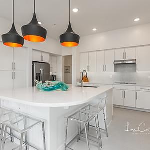 A very modern kitchen