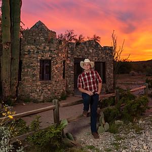 Justin Stringer Senior Photos
