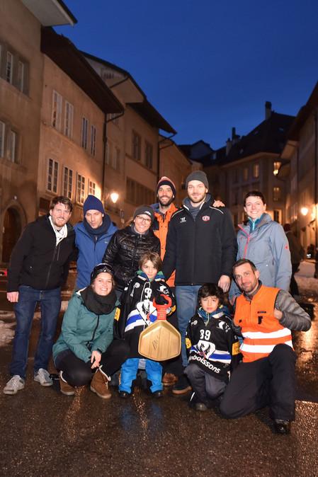 Gottéron et comité piste de luge Fribour