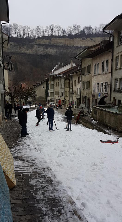 """Piste de luge """"Barry Brust"""" à Fribourg 2018"""