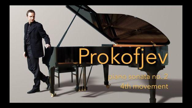 Sergej Prokofjev: Klaviersonate Nr. 2 in d-moll op. 14, IV. Satz