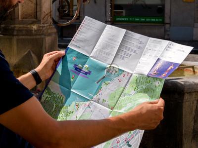 Plan touristique Villeneuve