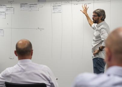 Après avoir identifer des solutions, il faut les réaliser Experientiel