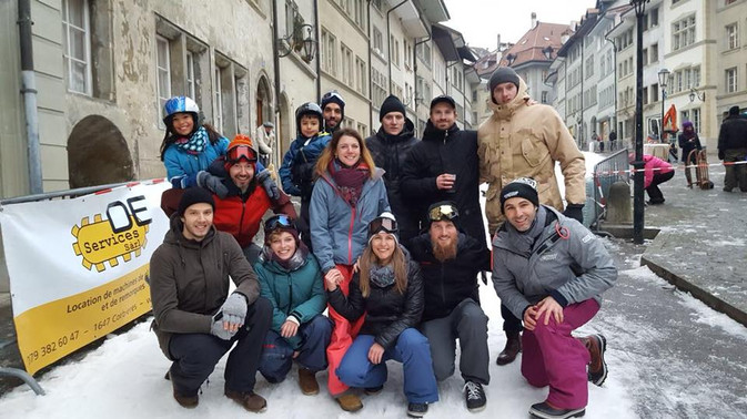 Luge à Fribourg, comité de la CAP
