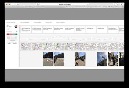 Design tinking - Recherche par mobile ethnographie