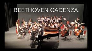 Ludwig van Beethoven: Piano concerto no. 3 in c minor op. 37, cadenza of 1st movement