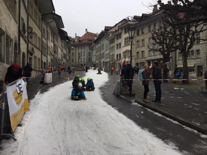 Luge à Fribourg