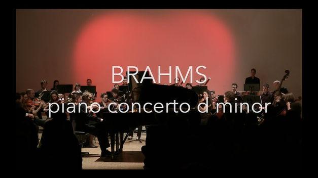 Johannes Brahms: Klavierkonzert Nr. 1 in d-moll op. 15, Ausschnitt aus dem II. Satzes