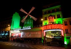 Le Moulin Rouge passe au vert