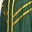 Thumbnail: Green Hand Dyed Linen Mass Set
