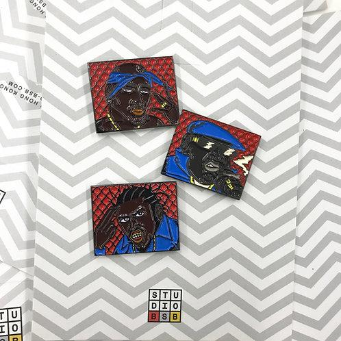 Rap Legends pin set (Free Worldwide Shipping)