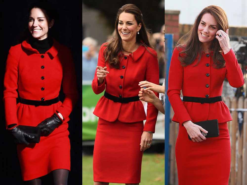 j.jackman Kate Middleton, Duchess of Cambridge and serial outfit recycler. Image: Getty/Chris Jackson, Joseph Johnson, WPA Pool