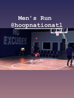 Hoop Nation Atlanta Men's Run