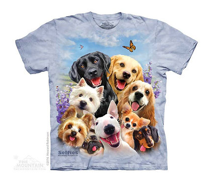 Dogs Selfie Kids T-Shirt