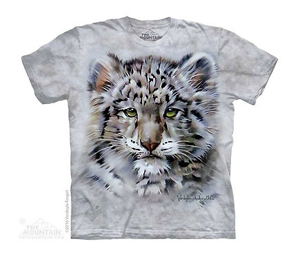 Baby Snow Leopard Kids T-Shirt