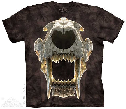Kids Sabertooth Skull T-Shirt