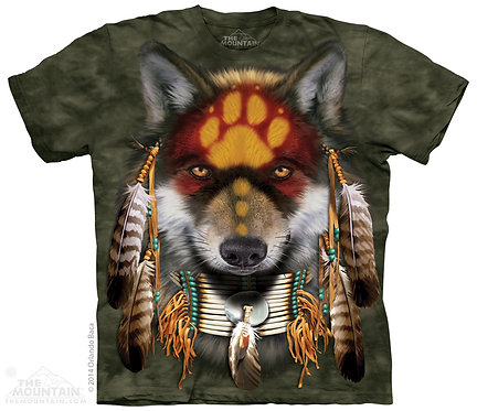 Native Wolf Spirit T-Shirt