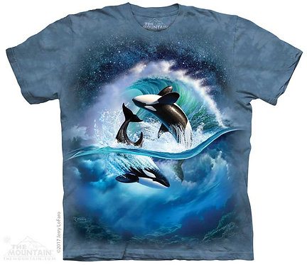 Kids Orca Wave T-Shirt