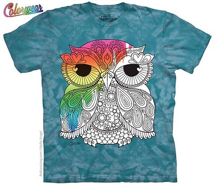 Owl 1 by Hello Angel Colorwear T-Shirt