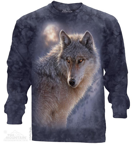 Adventure Wolf Long Sleeve Tee