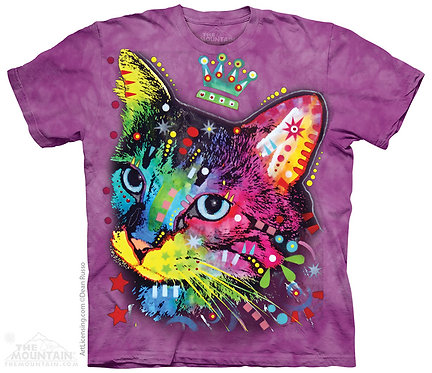 Crown Kitten Kids T-Shirt