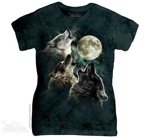 Three Wolf Moon Ladies T-Shirt