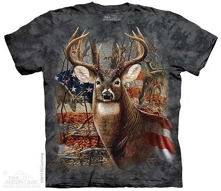 Patriotic Buck T-Shirt