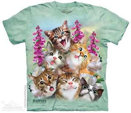 Kittens Selfie T-Shirt