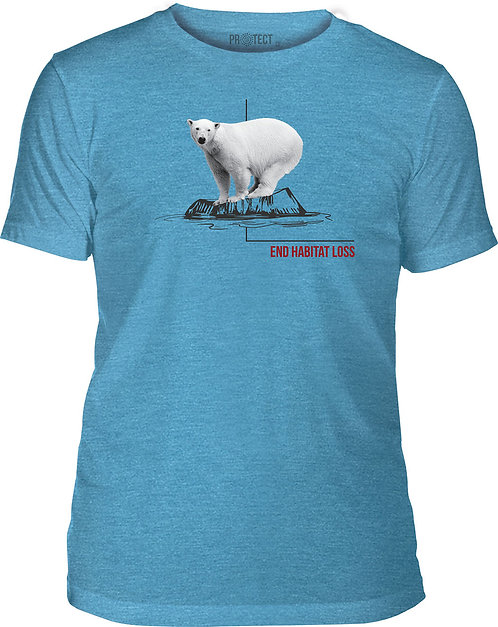 Habitat Polar Bear Blue