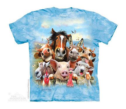 Farm Selfie Kids T-Shirt