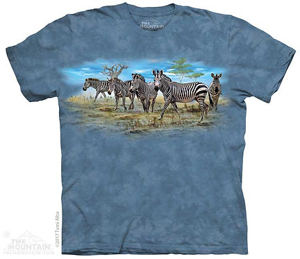 Kids Zebra Gathering T-Shirt