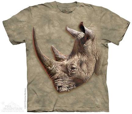 Kids White Rhino T-Shirt