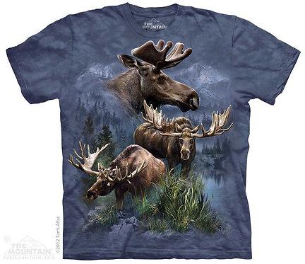 Moose Collage T-Shirt