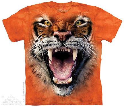 Roaring Tiger Face T-Shirt