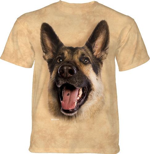 Joyful German Shepherd