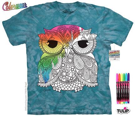 Owl 1 by Hello Angel Colorwear Kit