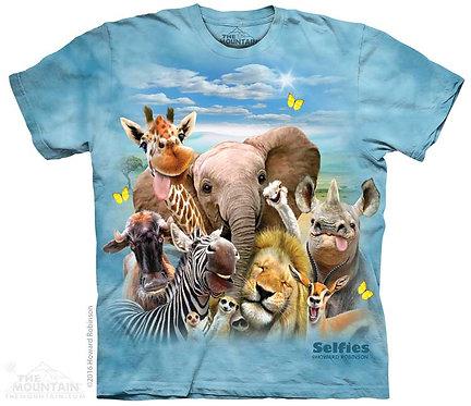 African Selfie T-Shirt