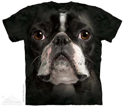 Boston Terrier Face T-Shirt