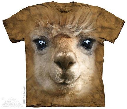 Big Face Alpaca T-Shirt