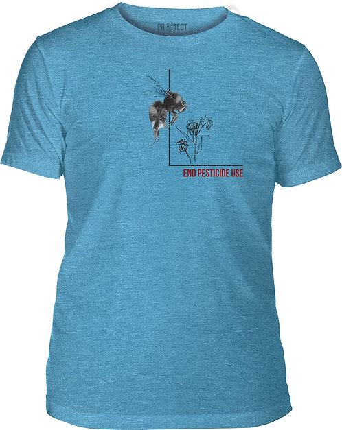 Pesticide Bumble Bee Blue