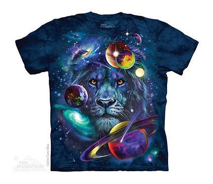 Lion Of Cosmos Kids T-Shirt