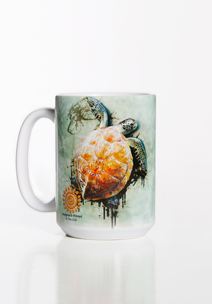 Sea Turtle Climb Mug