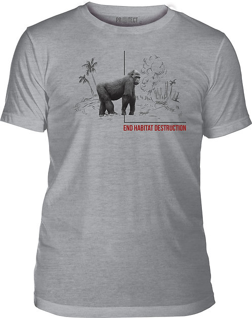 Habitat Gorilla Grey