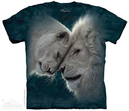 White Lions Love T-Shirt