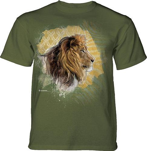 Modern Safari Lion Olive