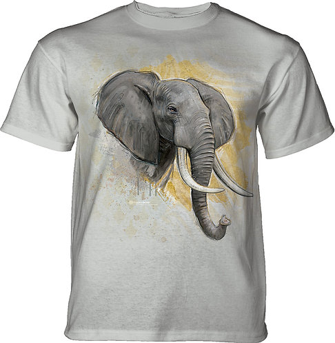 Modern Safari Elephant Cloud