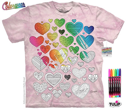 Hearts on Hearts by Hello Angel Colorwear Kit