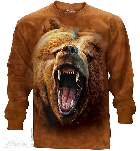 Grizzly Growl Long Sleeve Tee