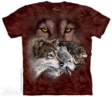 Find 9 Wolves T-Shirt
