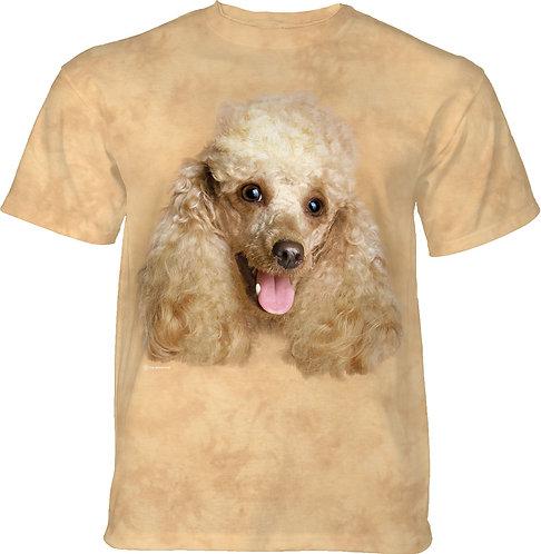 Happy Poodle Portrait